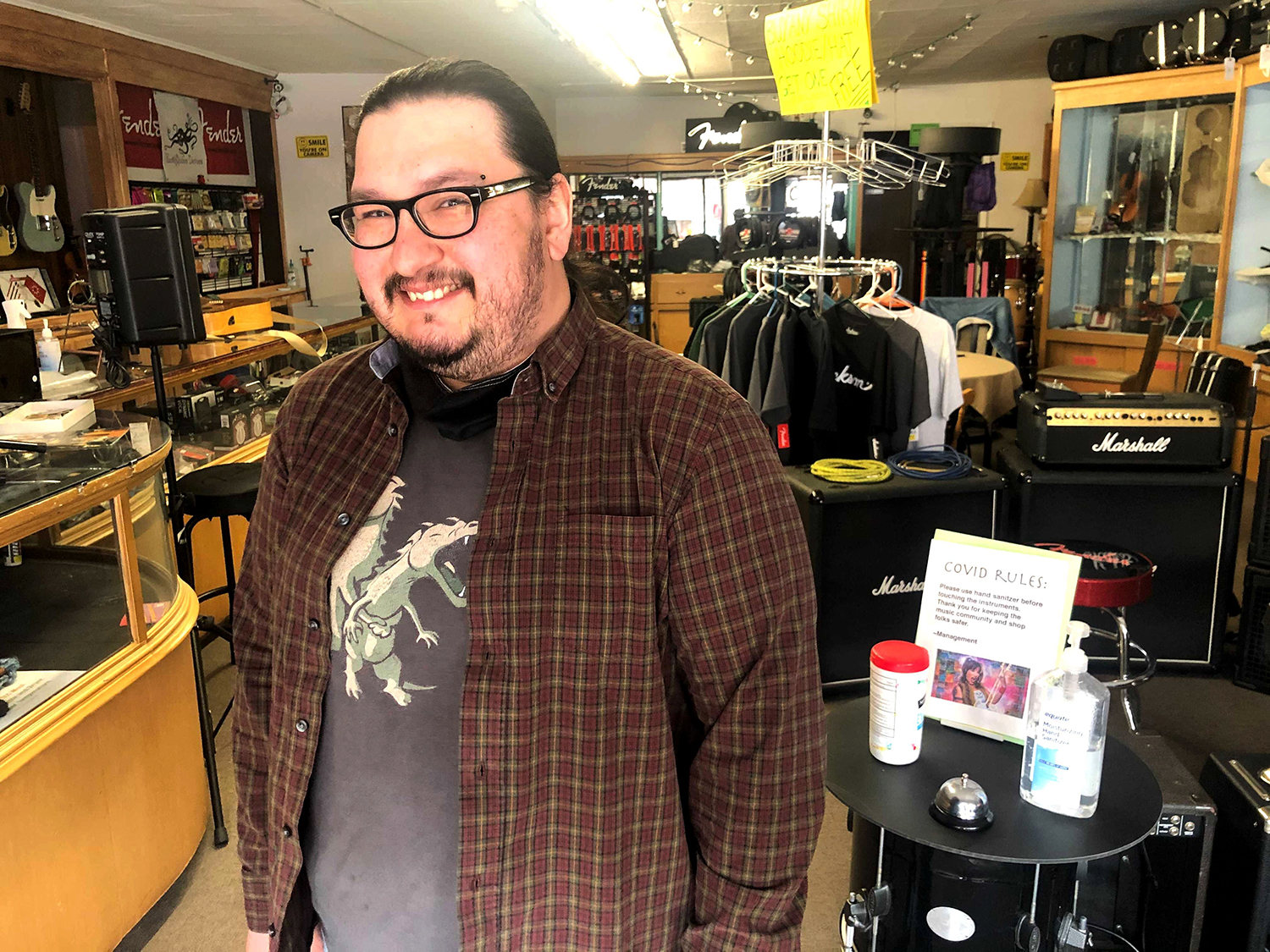 Sean Francis, a Native business owner